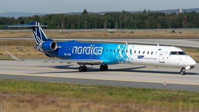 ES-ACB - Bombardier CRJ-900ER - LOT Polish Airlines (Nordica)