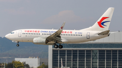 A picture of B5282 - Boeing 73779P - China Eastern Airlines - © KMG_Xiaokang2020