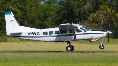 N105JF - Cessna 208 Caravan - Private