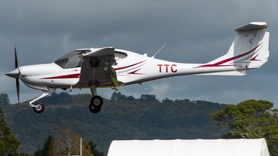 ZK-TTC - Diamond DA-40 - Eagle Flight Training