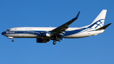 A picture of VQBFT - Boeing 73786N(BCF) - Atran - © Marc Lehmann