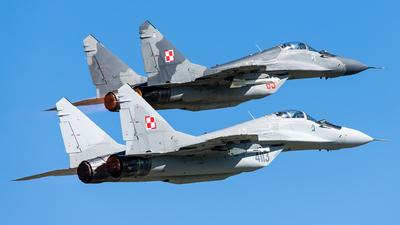 4113 - Mikoyan-Gurevich MiG-29A Fulcrum A - Poland - Air Force