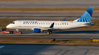 A picture of N85376 - Embraer E175LR - United Airlines - © Roger M