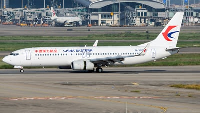 A picture of B205W - Boeing 73789P - China Eastern Airlines - © ZGGG RWY01