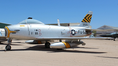 53-1525 - North American F-86H Sabre - United States - US Air Force (USAF)