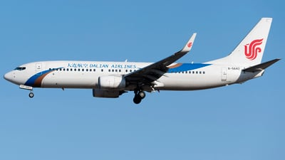 B-5642 - Boeing 737-89L - Dalian Airlines