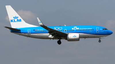 PH-BGG - Boeing 737-7K2 - KLM Royal Dutch Airlines