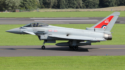 ZK318 - Eurofighter Typhoon FGR.4 - United Kingdom - Royal Air Force (RAF)