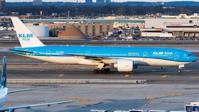 A picture of PHBQH - Boeing 777206(ER) - KLM - © ne.planespotter