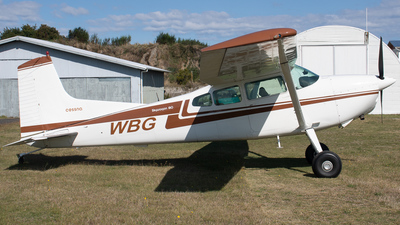 ZK-WBG - Cessna 180J Skywagon - Private