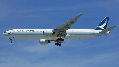 A picture of BHNU - Boeing 77731H - Cathay Pacific - © Hao Phan