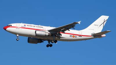 T.22-2 - Airbus A310-304 - Spain - Air Force