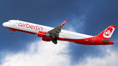 D-ABCR - Airbus A321-211 - Air Berlin