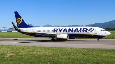 A picture of EIDPK - Boeing 7378AS - Ryanair - © Gian Pietro Bardizza