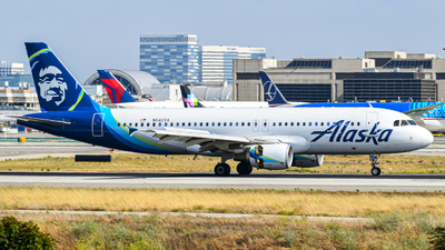 N642VA - Airbus A320-214 - Alaska Airlines