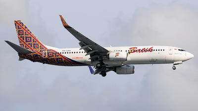 A picture of PKLBW - Boeing 7378GP - Batik Air - © Bernard Effendy