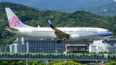 B-18661 - Boeing 737-8AL - China Airlines