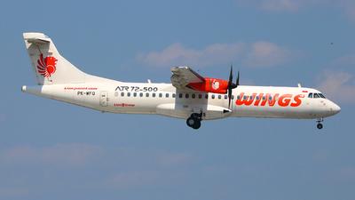 PK-WFQ - ATR 72-212A(500) - Wings Air