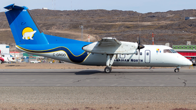 C-GRGO - Bombardier Dash 8-106 - Canadian North