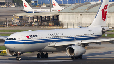 A picture of B6117 - Airbus A330243 - Air China - © XieTM