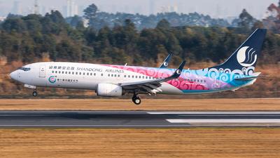 B-5786 - Boeing 737-85N - Shandong Airlines