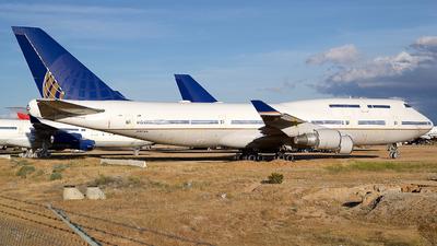 N107UA - Boeing 747-422 - Untitled