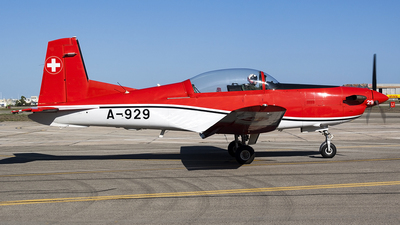 A-929 - Pilatus PC-7 - Switzerland - Air Force