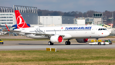 D-AVXO - Airbus A321-271NX - Turkish Airlines