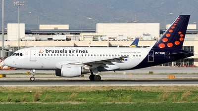 OO-SSB - Airbus A319-111 - Brussels Airlines