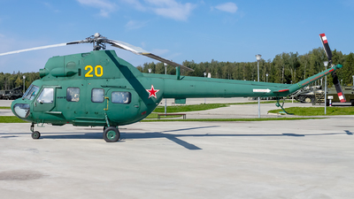 20 - PZL-Swidnik Mi-2U Hoplite - Soviet Union - Air Force