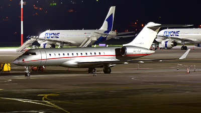 A picture of 9HVJX - Bombardier Global 6000 - VistaJet - © Iurii Tolstik
