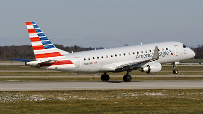 A picture of N250NN - Embraer E175LR - American Airlines - © DJ Reed - OPShots Photo Team