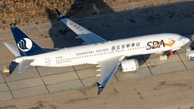 B-20E2 - Boeing 737-8 MAX - Shandong Airlines
