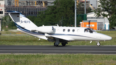 D-IEFD - Cessna 525A CitationJet 2 - EFD Eisele Flugdienst