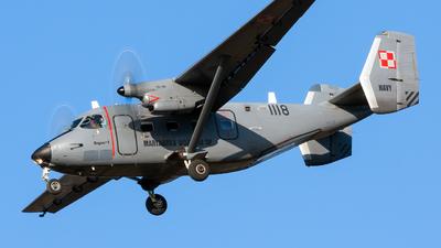 1118 - PZL-Mielec M-28TD Bryza - Poland - Navy