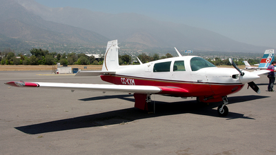 CC-KXM - Mooney M20J - Aero Club - Santiago