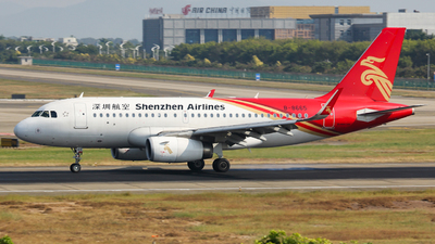 A picture of B8665 - Airbus A319133 - Shenzhen Airlines - © Lywings