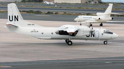 A picture of URELB - Antonov An26B100 - Air Urga - © Adolfo Bento de Urquía