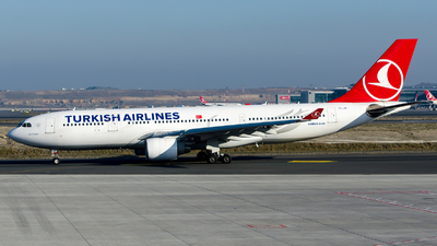 A picture of TCJIP - Airbus A330223 - Turkish Airlines - © Alp AKBOSTANCI