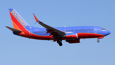 A picture of N289CT - Boeing 7377H4 - Southwest Airlines - © toyo_69pr