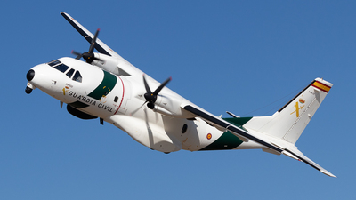 T.19B-22 - CASA CN-235MPA - Spain - Guardia Civil
