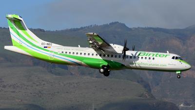 A picture of ECNGG - ATR 72600 - Binter Canarias - © Alejandro Hernández León
