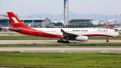 B-6127 - Airbus A330-343 - Shanghai Airlines