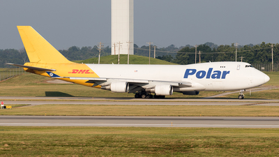 N416MC - Boeing 747-47UF(SCD) - Polar Air Cargo
