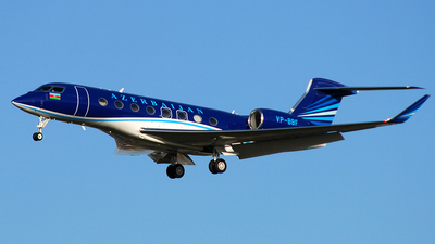 VP-BBF - Gulfstream G650 - Azerbaijan - Government
