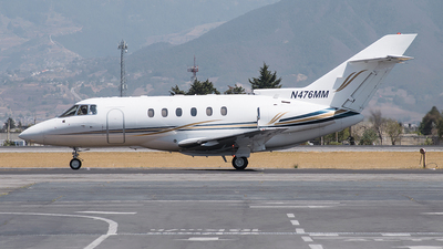 N476MM - Hawker Beechcraft 800XP - Private