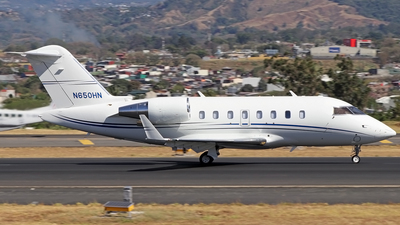 N650HN - Bombardier CL-600-2B16 Challenger 650 - Private