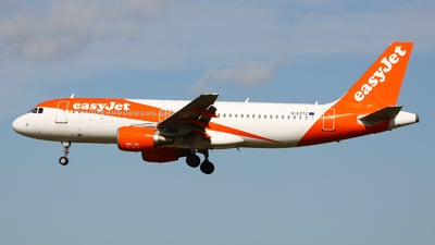 A picture of GEZTC - Airbus A320214 - easyJet - © Rafal Pruszkowski