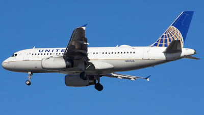 A picture of N819UA - Airbus A319131 - United Airlines - © Xiamen Air 849 Heavy