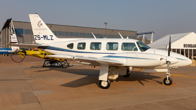ZS-MLZ - Piper PA-31-310 Navajo - Safomar Aviation Operations